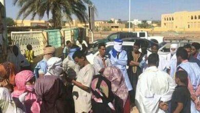 """Photo of وقفه إحتجاجية في مدينة"""" أطار """"بسبب العطش وجهات شبه رسميه تعد بحل عاجل"""