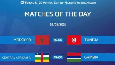 Photo of مباريات اليوم من كأس أمم افريقيا للشباب