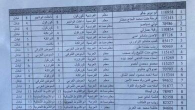 Photo of تحويلات وزارة التهذيب الوطني (التبادل)