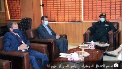 Photo of رئيس بعثة الاتحاد الأوروبي ندعم الانتقال الديمقراطي وامن السودان مهم لنا