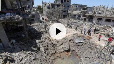 Photo of تواصل القصف الإسرائيلي على غزة وحصيلة الضحايا الفلسطينيين ترتفع إلى 119 قتيلا 31 منهم أطفال