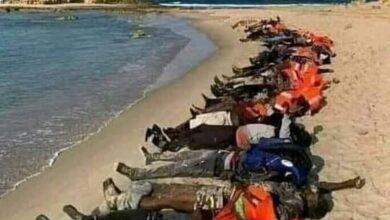 Photo of غرق أكثر من 160شاب أفريقي
