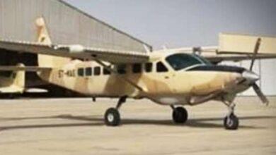 Photo of طائره عسكريه تصل مطار انواكشوط تحمل الموريتانيين  اللذين كانوا مختطفين في مالي